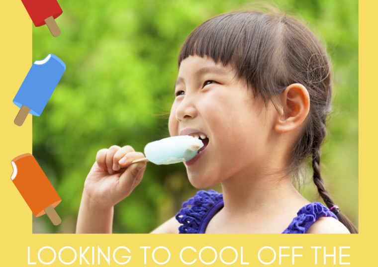 Healthy Treats to Cool Off The Kids During Summer
