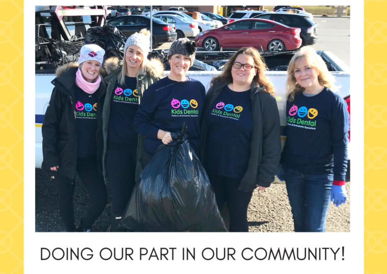 Cleaning up Our Community in Stouffville!